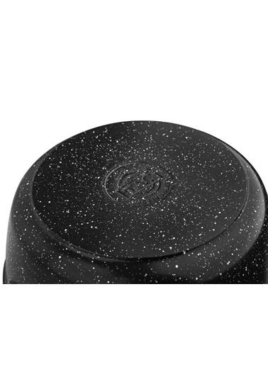 Taç Mutfak tac-3443 Taç Gravita Döküm Derin Tencere 28 Cm Siyah Tac-3443 Renkli